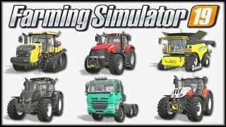 Farming Simulator 19 - Pokaz maszyn na oficjalnej stronie | (cz. 11 - ostatnia)