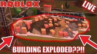 MISSING BUILDING! Jailbreak UPDATE COMING SOON! | 🔴 Roblox Jailbreak Live Stream
