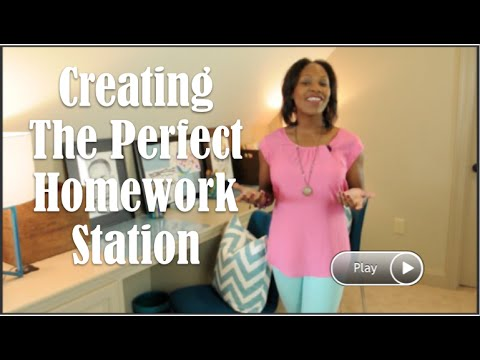 Homework Station Tips