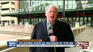 Oklahoma State Cowboys set to play Michigan in the NCAA Tournament