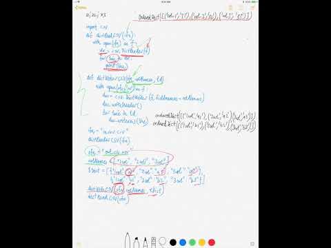 DictReader & DictWriter of CSV (Python)