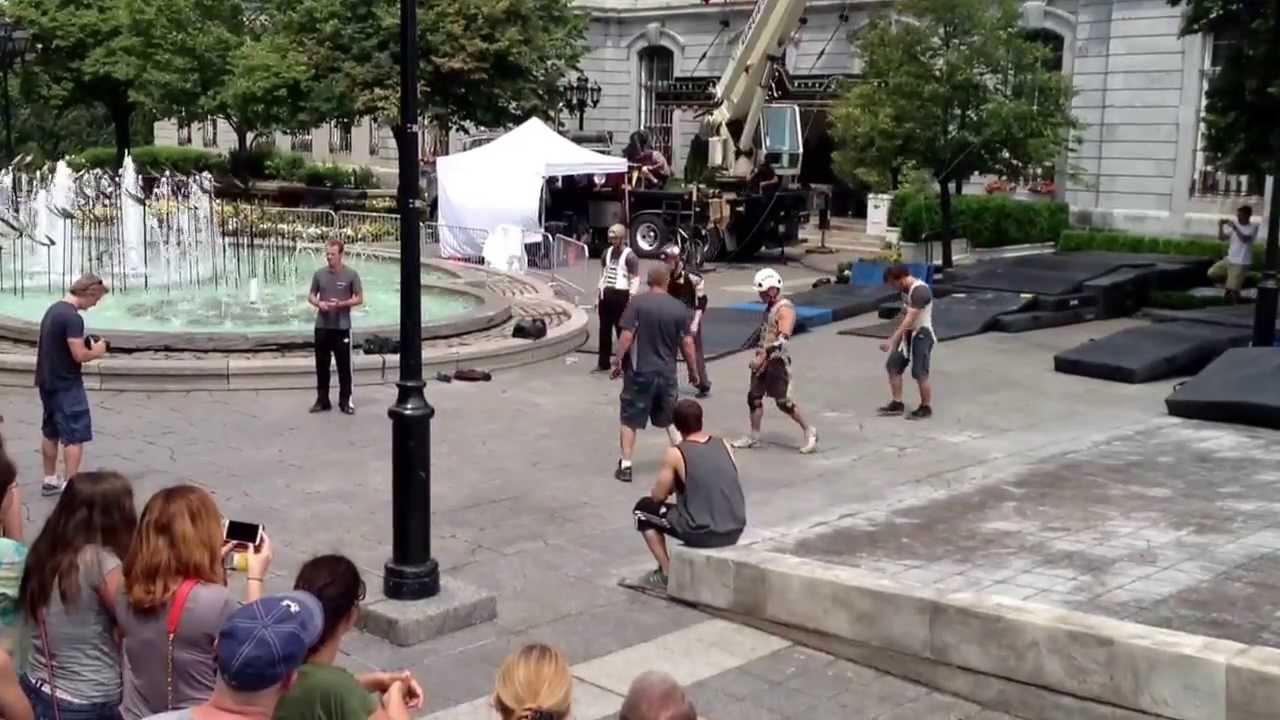 X-men DOFP filming in ...