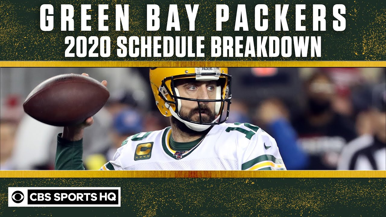 Green Bay Packers 2020 schedule breakdown