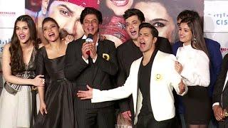UNCUT - Dilwale TRAILER LAUNCH | Shahrukh Khan, Kajol, Varun Dhawan, Kriti Sanon