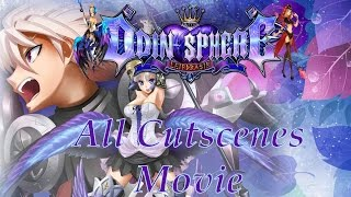 Odin Sphere Leifthrasir - All Cutscenes Movie {English, 60 FPS, Full 1080p HD}
