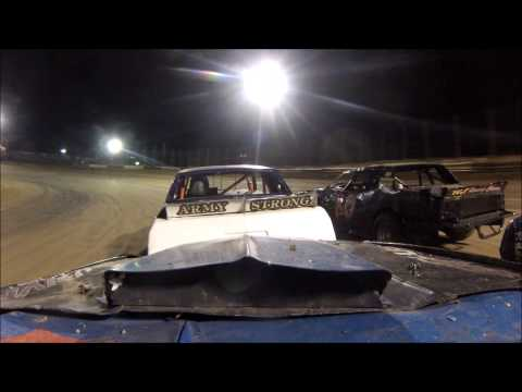Aj Cline Fayette county speedway feature 10/10/13