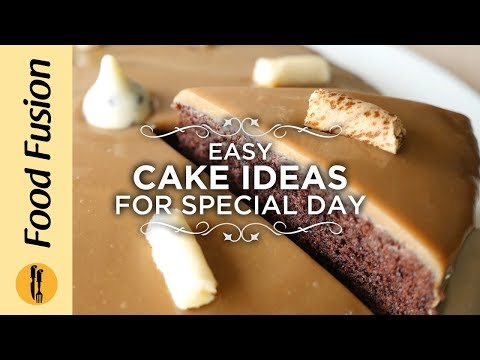 Easy Cake Recipe Ideas For Special Day By Food Fusion