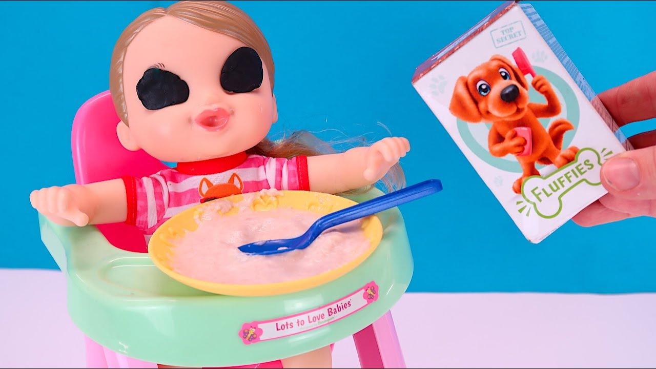 Зачем Анечка Закрыла Глазки? Мультики Как Мама Играет в Куклы Беби Бон 108мама тв