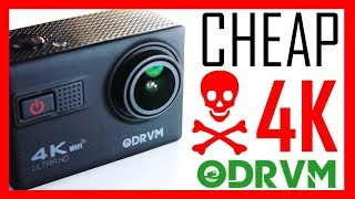 ODRVM Cheap action camera review - Featuring Novatek NTK96660 sensor and Gyro Stabilization