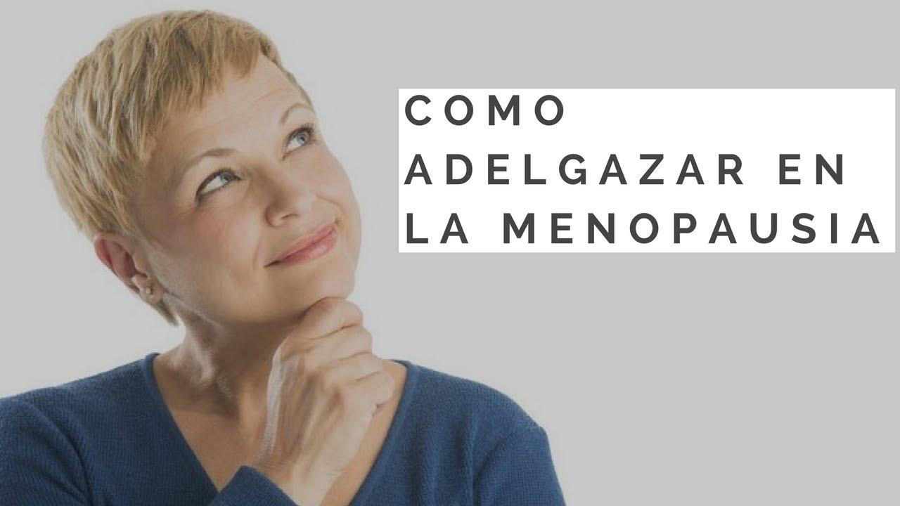 Dieta menopausia para adelgazar - YouTube