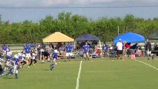 the most elite 8 year old running back of pop warner football 2012 highlights
