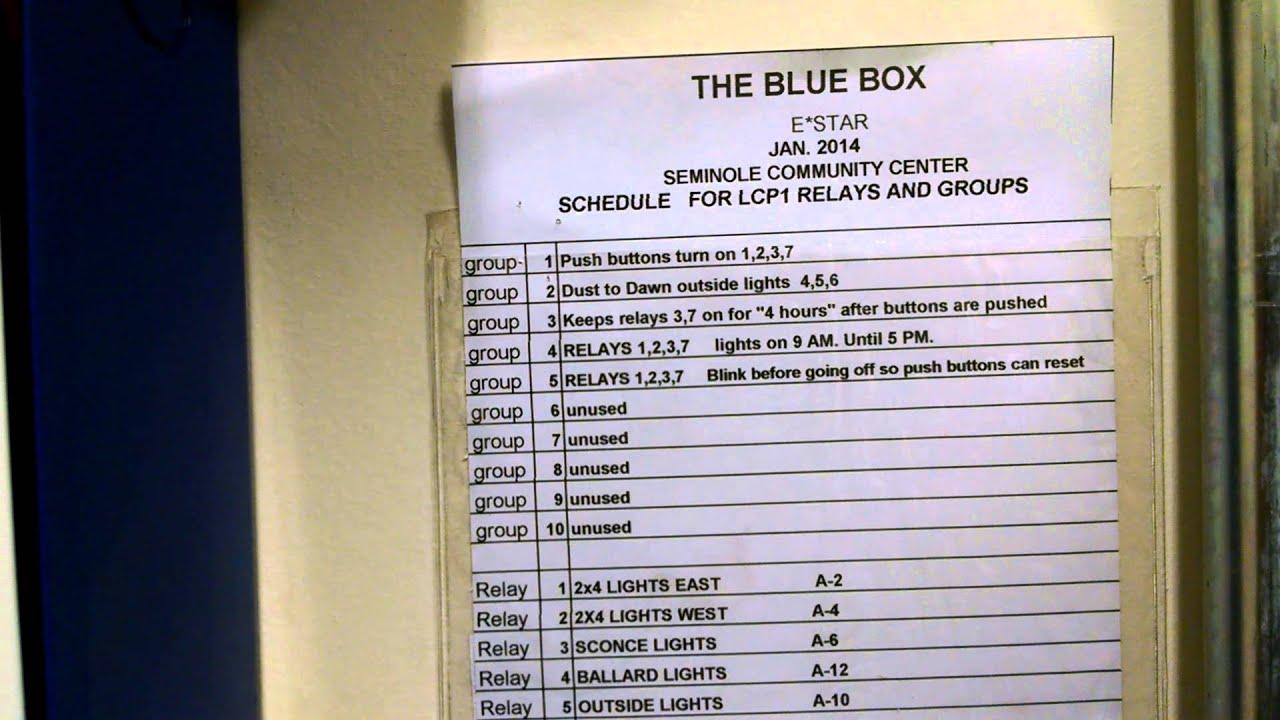 the blue box take 1