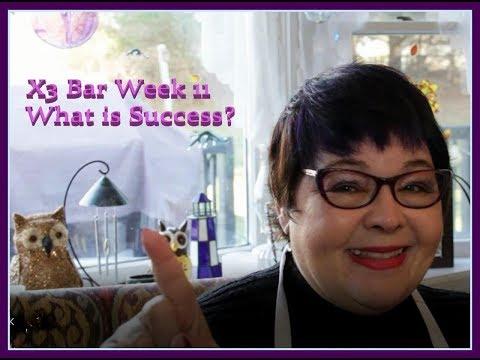 X3 Bar Week 11 - What is Success?