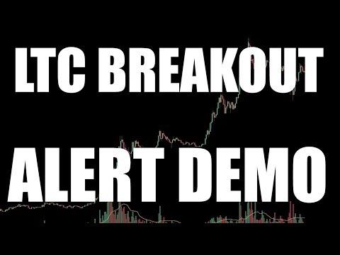 LTC Breakout & Alert System Walkthrough - 2/14/2018 by ChartGuys.com