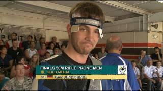 Finals 50m Rifle Prone Men - ISSF WC 2011, Rifle & Pistol Stage 5, Fort Benning (USA)
