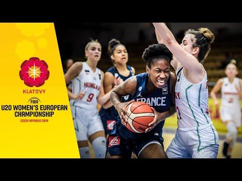 Hungary V France - Full Game - FIBA U20 Women's European Championship 2019