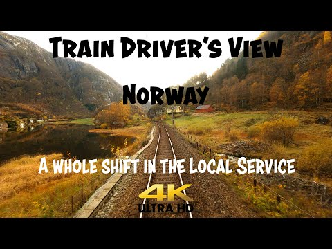 TRAIN DRIVER'S VIEW: A Whole Day In The Local Service