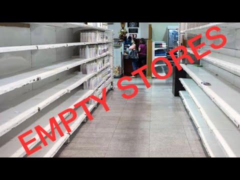 Coronavirus Empty Stores 😱