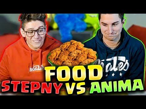ANIMA E ST3PNY VS FOOD!!