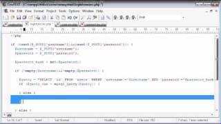 Beginner PHP Tutorial - 138 - Logging the User In Part 3