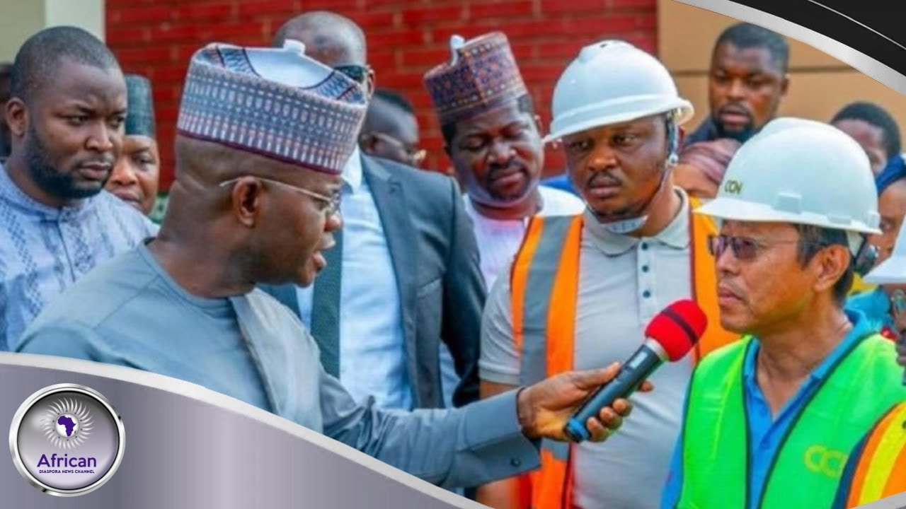 Nigerian Governor Humil!ates Chinese Contractor On National TV For Mediocre Work Done