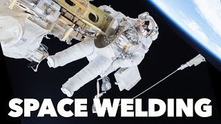 Welding in Space(In space, metals can weld together without heat or melting. Check out Audible: http://bit.ly/AudibleVe Support Veritasium on Patreon: http://bit.ly/VePatreon ..., 2016-10-26T14:30:00.000Z)