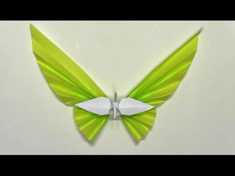 簡単 折り紙:折り紙 ツル-youtube.com