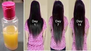 I Promise After Using This Your Hair Will Never Stop Growing | Super Fast Hair Growth Formula