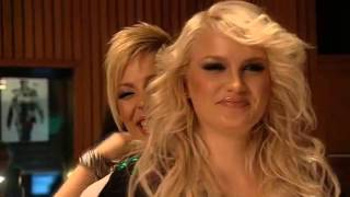 Queensberry - The Chipettes dubbing - backstage (2009)