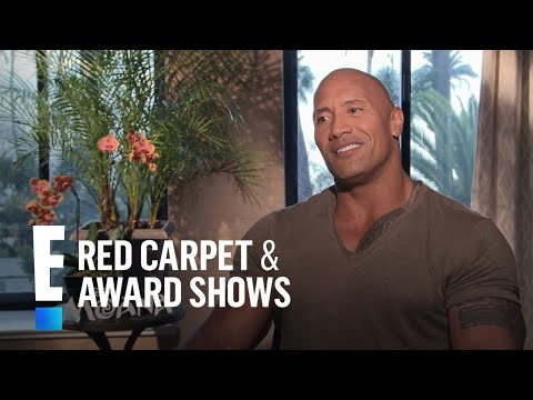 Going to the Movies With The Rock | E! Live from the Red Carpet