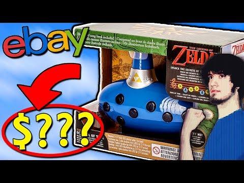 Legend of Zelda Toys! | EXPENSIVE Ebay Stuff - PBG