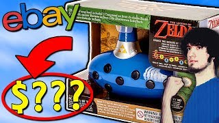 EXPENSIVE Ebay Stuff | Legend of Zelda Toys! - PBG