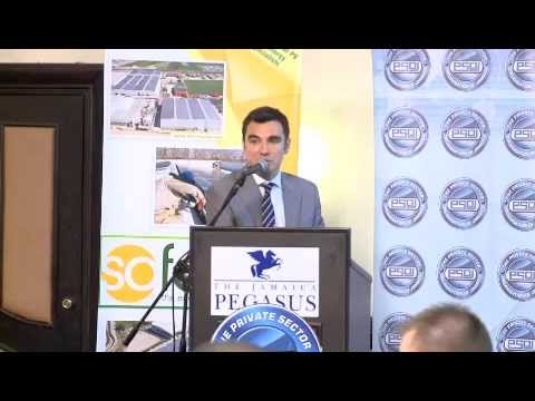 Sofos Jamaica / Breakfast seminar on solar energy