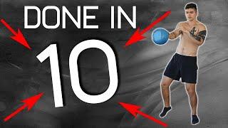 10 Minute Full Body Follow Along Kettlebell Workout!