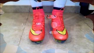NIKE MERCURIAL SUPERFLY ROJO/RED DHGATE-ALIEXPRES TEST
