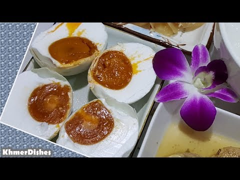 How To Make Salted Eggs | Homemade Salted Duck Eggs | Salted Eggs For Breakfast