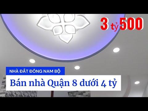 Chính Chủ Bán Nhà Quận 8 Dưới 4 Tỷ, Hẻm 232 Hưng Phú P8 Q8