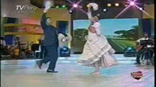 """Silvia del Rio """"La Huanchaquera"""" CORAZON PERUANO con Cecilia Barraza 13-02-2010"""