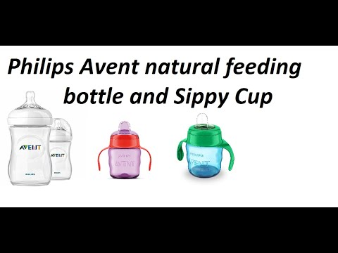 Philips Avent Natural feeding bottle and Sippy Cup   Baby feeding products