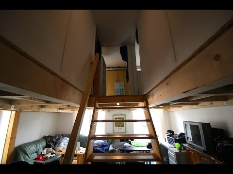 Innovative German Student Dorm Tour + Soccer Challenge