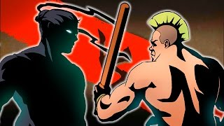 КИРПИЧ ОТДЫХАЕТ Мульт Игра для детей про бои с тенью Shadow Fight 2