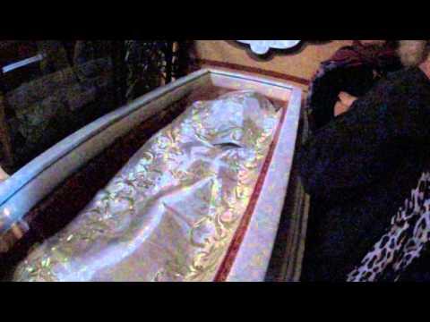 The Russian Church of Mary Magdalene, Jerusalem - the body of G. Duchess Elizabeth Feodorovna