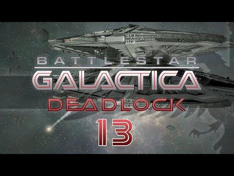 BATTLESTAR GALACTICA DEADLOCK #13 BASESTAR FLEET Preview - BSG Let's Play