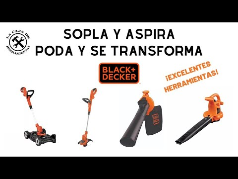 Desbrozadora Y Sopladora Black And Decker
