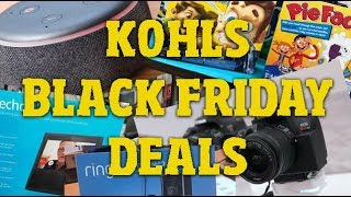 Kohls BLACK FRIDAY 2019 DEALS!!