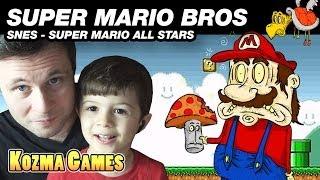 Jogando Mal: SUPER MARIO ALL STARS - SUPER MARIO BROS 1 - Gameplay Comentado em Português