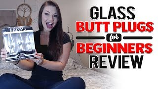 Glass Anal Training Kit | First Time Anal Sex Toy | Glass Butt Plugs Review