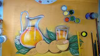 Roberto Ferreira – Pintura em tecido Parte 2