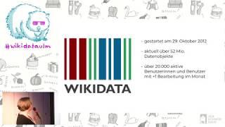 Wikidata Workshop 2019: Einführung in Wikidata