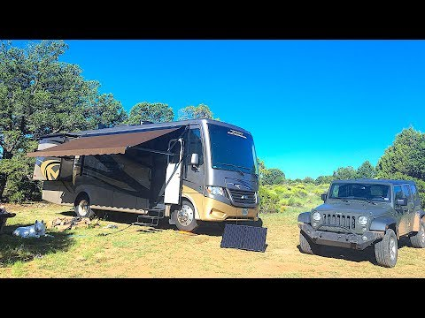 Free Dispersed Camping in National Forests | Full Time RV Life